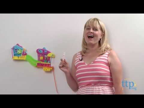 Polly Pocket Wall Party Pet Store from Mattel