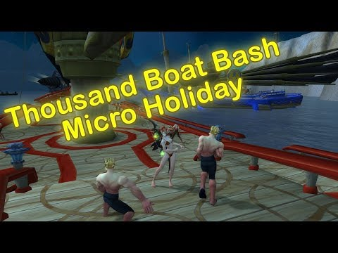 WoW Thousand Boat Bash Micro Holiday | World of Warcraft Legion Patch 7.2.5 Holiday Event