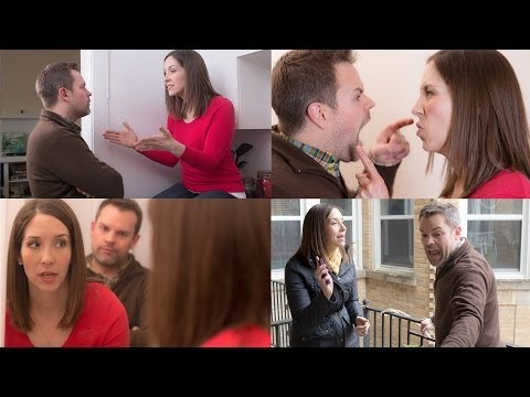 Couple Keeps It Interesting By Bickering In Different Positions, Rooms video