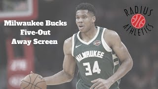 Milwaukee Bucks - Five-Out Away Screen