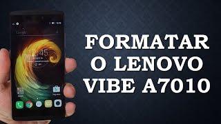 Como Formatar o Lenovo Vibe A7010 (Hard reset)