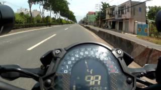 Z900 Tốc biến khi gặp CSGT QL 22 Hóc Môn