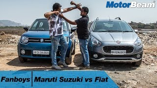 Maruti Suzuki vs Fiat - Fanboys: Episode 5 | MotorBeam