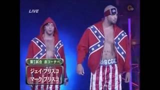 NOAH - Jay & Mark Briscoe vs Kota Ibushi & Katsuhiko Nakajima