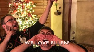 Ellen Checks Out GEICO Skybox Challenge Contestants!