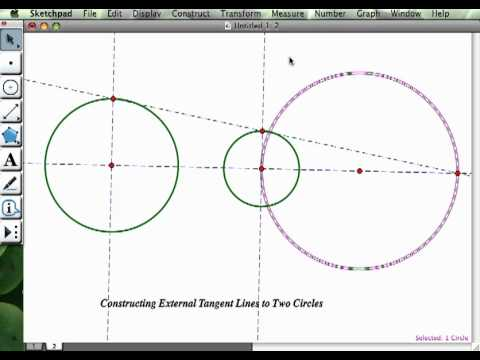 Circle Tangent to Two Circles Tangents to Two Circles