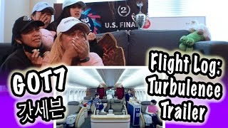 Kpop Reaction Got7        Flight Log Turbulence Trailer
