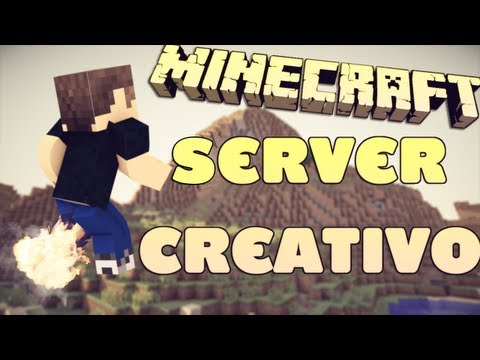 Server de Minecraft 1.6.2 CRIATIVO!
