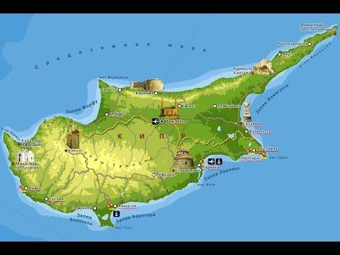 Интерактивная карта региона Ларнака
