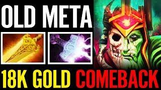 RAD + MJOLNIR EESAMA WK OLD META18K GOLD COMEBACK LIKE REAL G DOTA 2