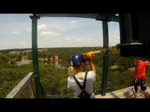Big Foot Zip Line Tours in Wisconsin Dells