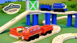 Chuggington Wooden Railway Sets Unboxing & Review (Wilson Rides the Rails & Cargo Crossover)