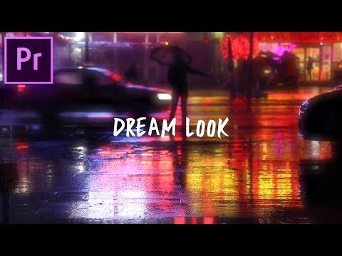 Adobe Premiere Pro Tutorial: Dreamy Color Glow Video Effect! (CC 2017 How to)