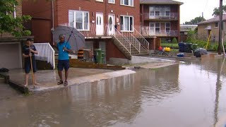 Residents cope with severe flooding after rainstorm