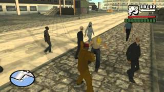 GTA San Andreas underwater trick anywhere