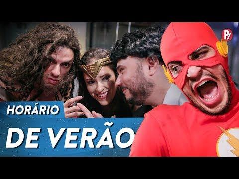 HORÁRIO DE VERÃO   PARAFERNALHA Vídeos de zueiras e brincadeiras: zuera, video clips, brincadeiras, pegadinhas, lançamentos, vídeos, sustos