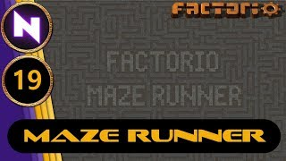 Factorio 0.17 Maze Runner #19 SULFUR AND SHELLS