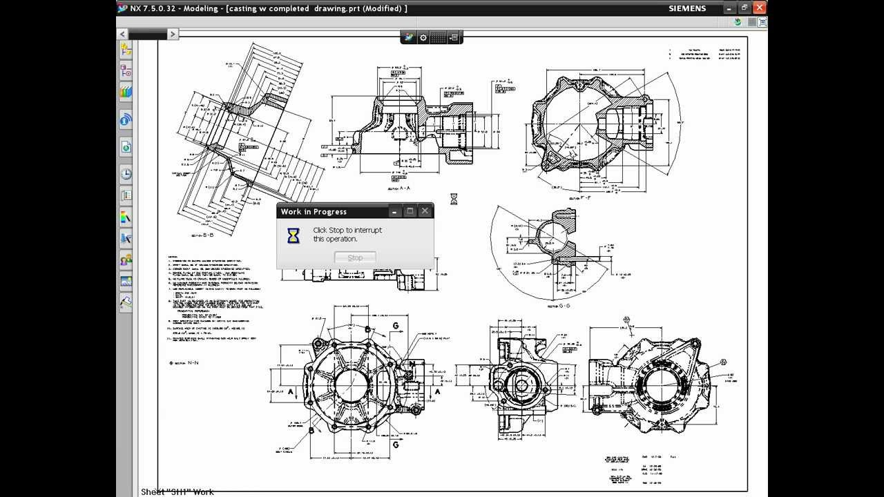 Nx8 - Drafting - Track Drawing Changes