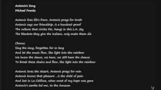 Watch Michael Franks Antonios Song video