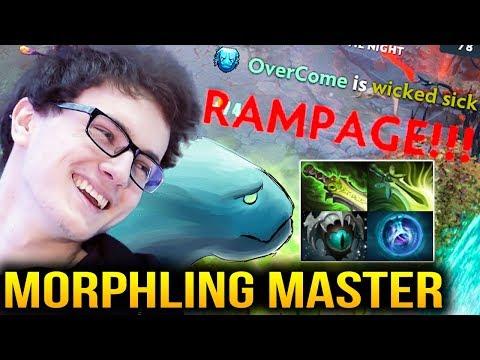 Miracle- RAMPAGE - Morphling Master 32 Kills in 34 Minutes Dota 2 7.07c