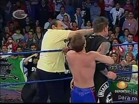 AAA: Vampiro vs. Konnan, 2009/03/15 [hair vs. hair of seconds]