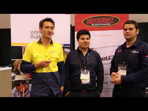2014 WorldSkills Australia National Refrigeration Competition Day 2 highlights