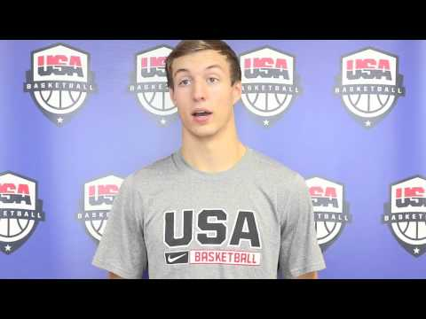 Interview with USA Basketball U18 National Team member Luke Kennard (June 23, 2014)