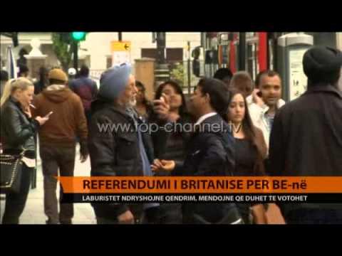 Britani, laburistët mbështesin referendumin e Cameron - Top Channel Albania - News - Lajme