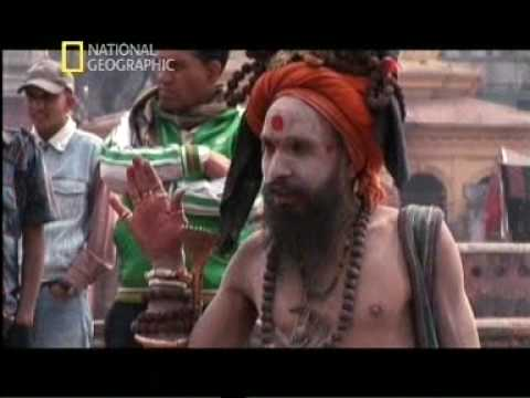 Indian sadhu Smoke-Cannabis
