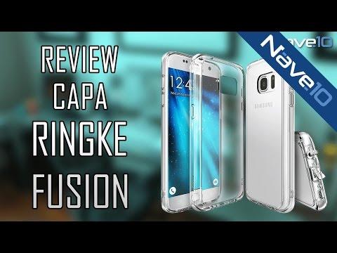 Capa Ringke Fusion para Samsung Galaxy S7