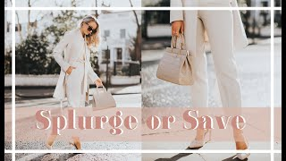 SPLURGE VS SAVE // Where to Spend - Spring Fashion // #FashionMumblrSpringEdit