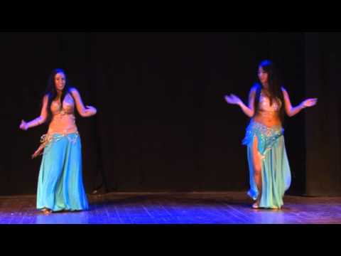 Sapir Tubiana&sivan Ovadia - Belly Dance Festival habibi Ya Eini 3, 2012 video