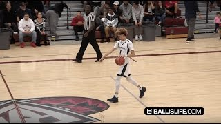 lamelo ball half court shot was made after he saw this
