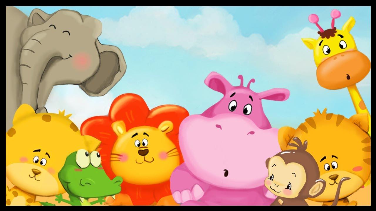 Apprendre les animaux de la savane youtube - Dessin de tous les animaux ...
