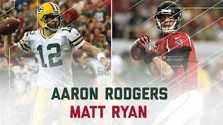 Aaron Rodgers & Matt Ryan Throw for 5 TDs in the First Half! | Packers vs. Falcons | NFL