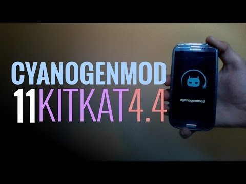 Cyanogenmod 11 review - 4.4 KITKAT on Galaxy S3