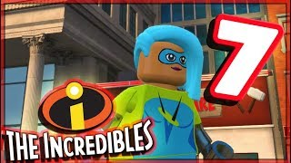 LEGO The Incredibles Free Roam Part 7 Urbem Heights Crime Wave! (PS4 Pro)