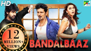 BANDALBAAZ | Pokkiri Raja | Full Comedy Hindi Dubbed Movie | Jiiva, Sibiraj, Hansika Motwani