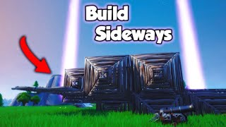 How To BUILD SIDEWAYS in Fortnite Season 8!