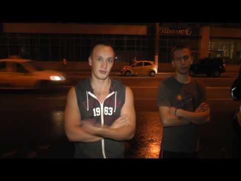 Пьяный на Лэнд Крузере ехал со свадьбы, Ленина ул. Место происшествия 24.08.2016