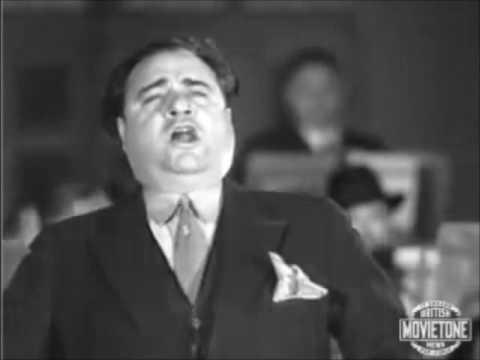 Beniamino Gigli sings 'O paradiso' (excerpt) - Berlin, 1932