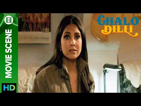 Lara Dutta All Teared Up - Chalo Dilli