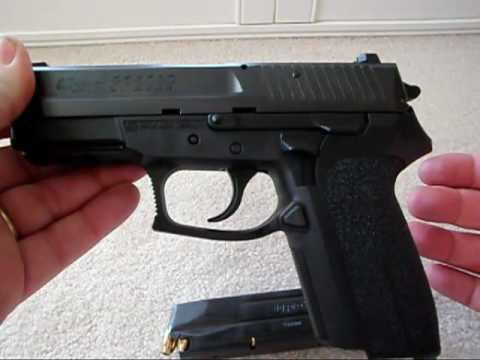 Sig Sauer SP 2022. 9mm Gun Review.mp4