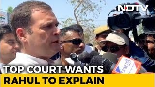 Not What We Said: Top Court Asks Rahul Gandhi To Explain Rafale Remark