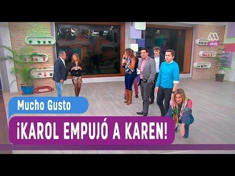 Karol empujó a karen - Muhco Gusto 2016