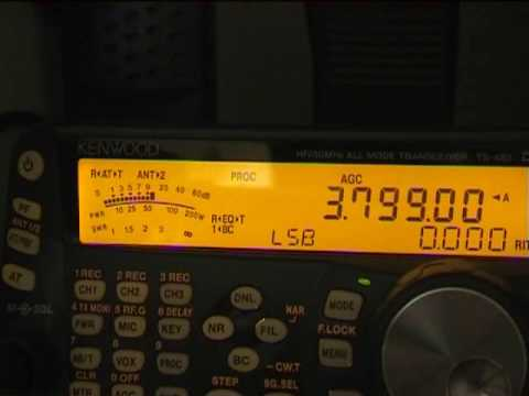 Ham radio DX Japan and Korea on TS 480 SAT + G5RV