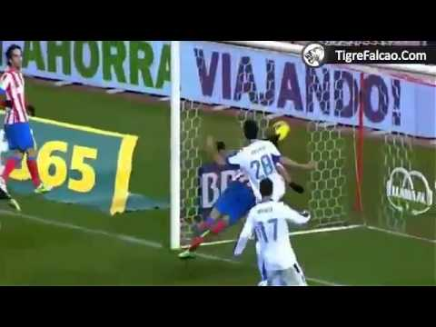 Los 5 goles de Falcao - Atletico de Madrid vs Depo