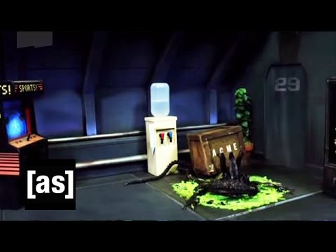 Aliens Robot Chicken Aliens Acid Blood | Robot