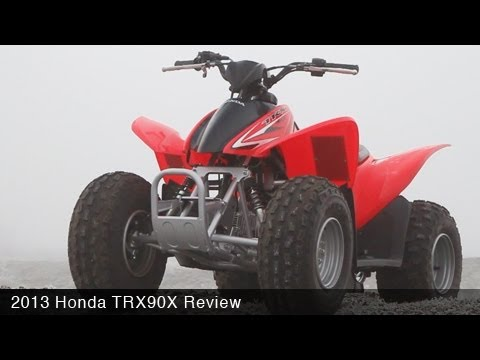 MotoUSA Kids ATV Shootout - 2013 Honda TRX 90