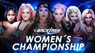 WWE Backlash (2016) Six-Pack Elimination Challenge for SmackDown Women's Championship